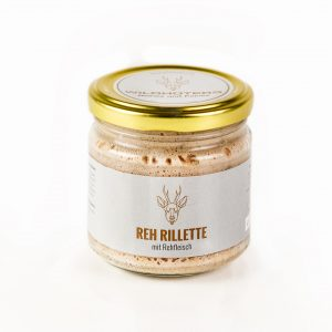 WILDHÜTERS Reh-Rillette im Glas 170gr